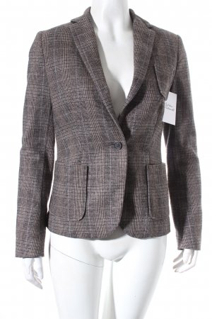 Maison Scotch Woll-Blazer Karomuster Urban-Look