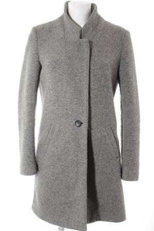 Maison Scotch Cappotto in lana grigio chiaro stile casual