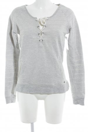 Maison Scotch Jersey de lana color plata estilo sencillo