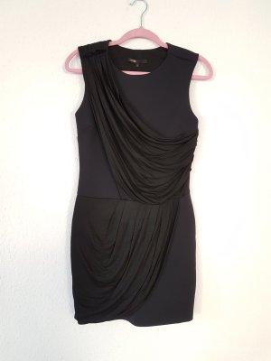 Maje asymmetrisches Kleid aus Neopren