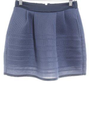 Maje Ballonrock dunkelblau Elegant