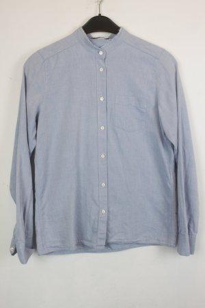 Maje Bluse Hemd Hemdbluse Gr. S blau (18/6/104/E/K)