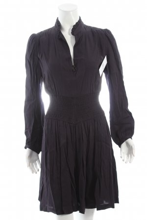 Maje Blusenkleid dunkelblau klassischer Stil