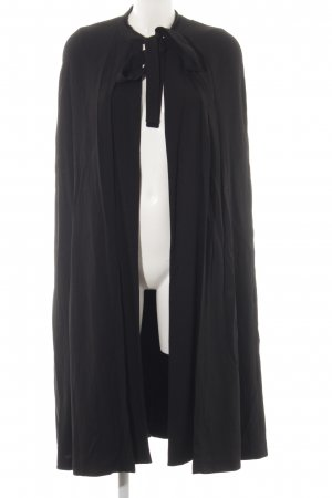 Maje Cape schwarz extravaganter Stil