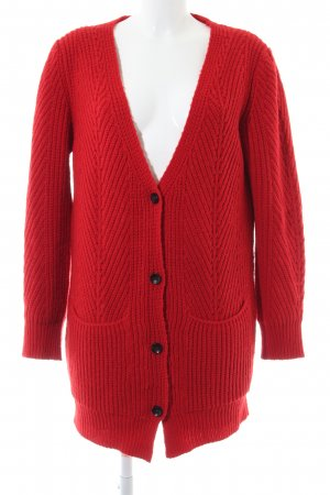 Maje Cardigan rot Casual-Look