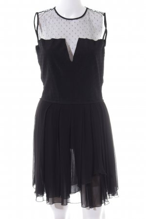 Maje Cocktailkleid schwarz Elegant