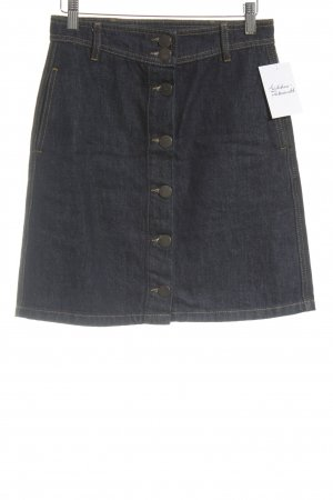 Maje Jeansrock blau Street-Fashion-Look