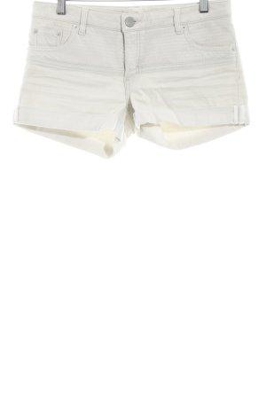 Maje Pantalón corto de tela vaquera beige claro look casual
