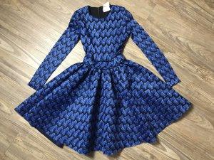 Maje Kleid blau Gr XS