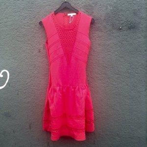 Maje Kleid in intensivem Neonpink