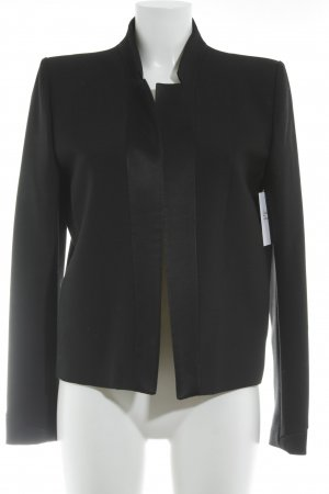 Maje Kurz-Blazer schwarz Business-Look