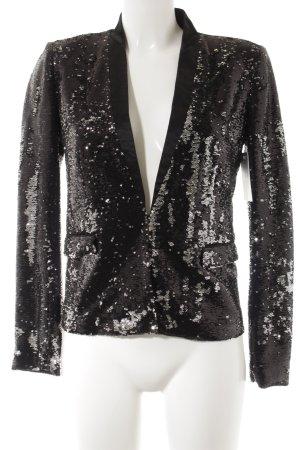 Maje Kurzjacke schwarz extravaganter Stil
