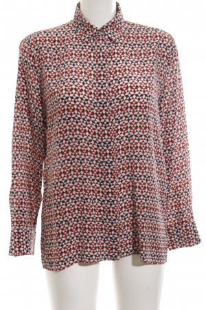 Maje Langarm-Bluse grafisches Muster Casual-Look