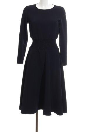 Maje Langarmkleid schwarz Elegant