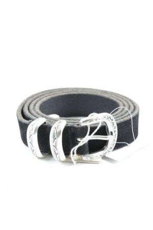 Maje Leather Belt black casual look