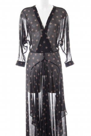 Maje Maxikleid Allover-Druck Party-Look