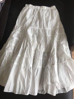Maje Maxi Skirt white
