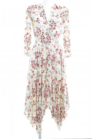 Maje Midi-jurk bloemenprint romantische stijl