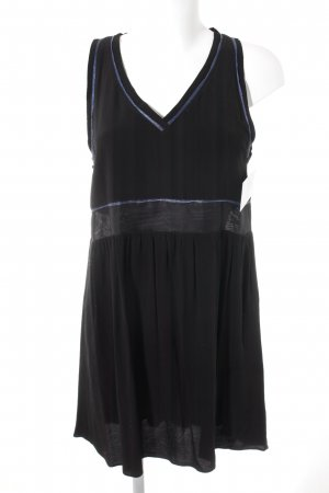 Maje Minikleid schwarz-blau Elegant
