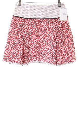 Maje Minifalda estampado con diseño abstracto look casual