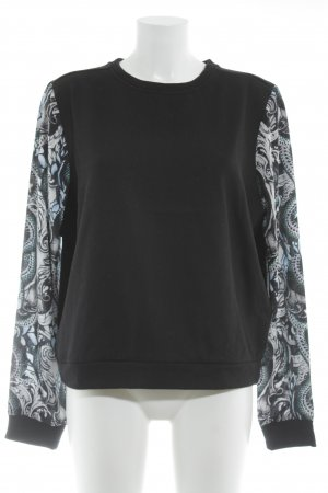 Maje Oversized trui abstract patroon casual uitstraling