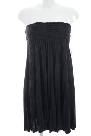 Maje schulterfreies Kleid schwarz Party-Look