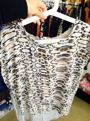 Maje Shirt // Gr. 2 (Gr.38) // Oversize // Space Muster