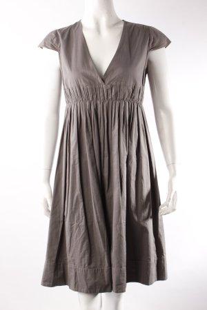 Maje Shirt-Kleid hellgrau