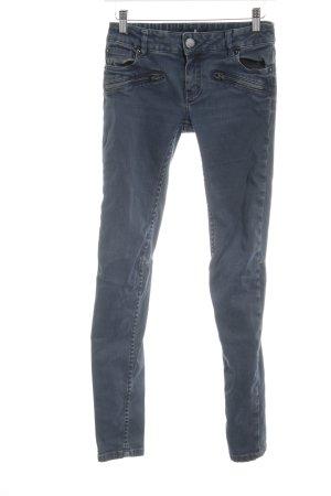 Maje Skinny Jeans graublau Casual-Look