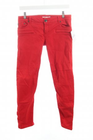 Maje Skinny Jeans rot Casual-Look