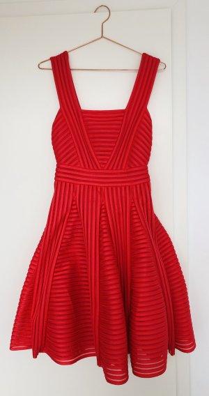 Maje Sommerkleid in leuchtendem Orange-Rot