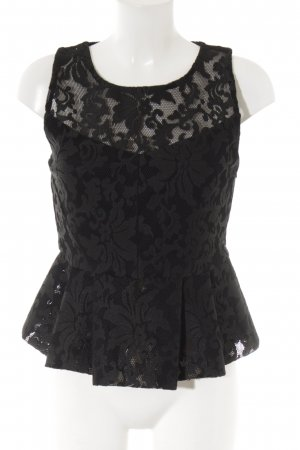Maje Lace Top black elegant
