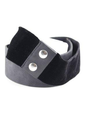 Maje Stoffgürtel schwarz klassischer Stil