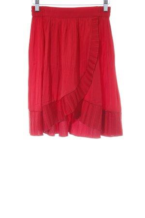 Maje Stretch rok rood elegant