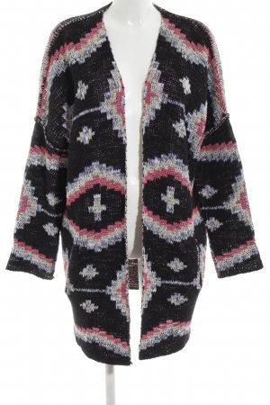 Maje Strick Cardigan abstraktes Muster Casual-Look