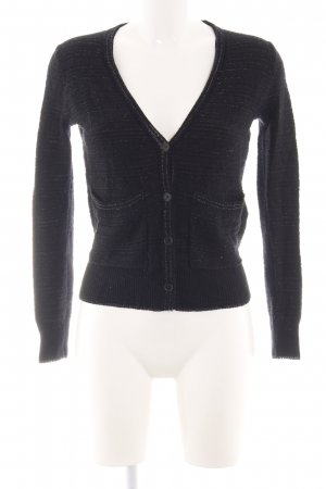 Maje Strickjacke schwarz Casual-Look