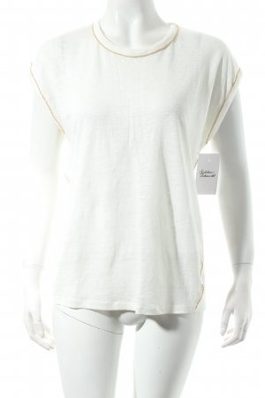 Maje T-Shirt wollweiß Casual-Look