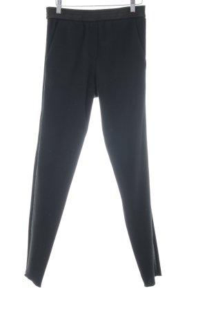 Maje Woolen Trousers black casual look