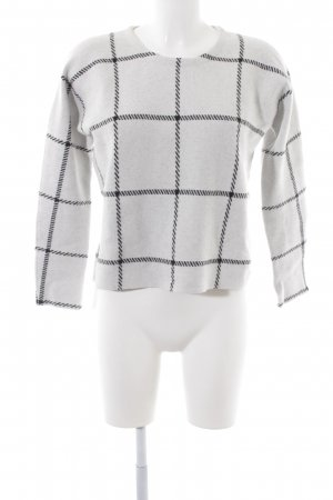 Maje Wollpullover Karomuster Casual-Look