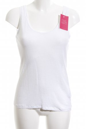 Majestic Filatures Basic Top weiß Casual-Look