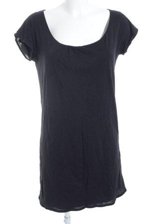 Majestic Filatures T-Shirt dunkelblau-grau schlichter Stil