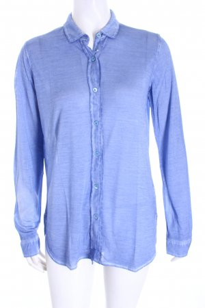 Majestic Longshirt himmelblau Used-Optik