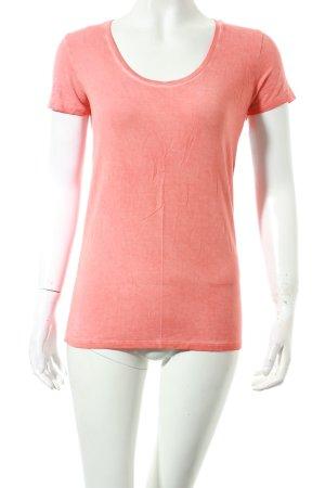 Majestic Shirt orange Casual-Look