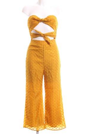 Majorelle Mono naranja dorado-amarillo oscuro look Street-Style