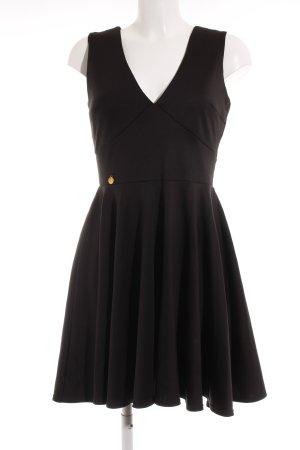Makadamia Jerseykleid schwarz Elegant