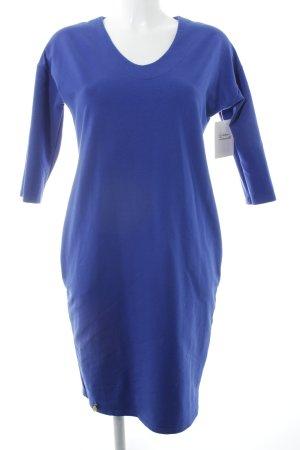 Makadamia Langarmkleid blau klassischer Stil