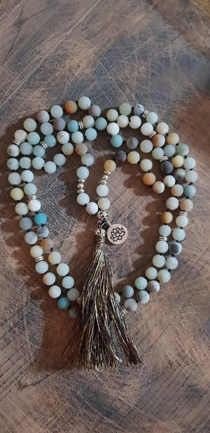 Mala, 108 Perle  Amazonit