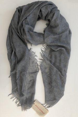 Mala Alisha Sjaal van kasjmier lichtgrijs-grijs