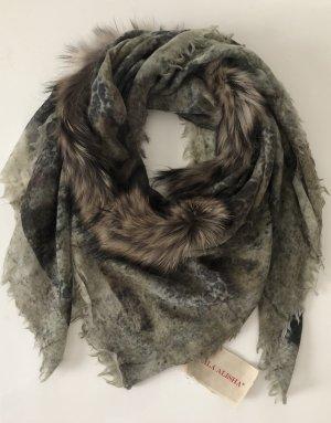 Mala Alisha Sciarpa di lana multicolore