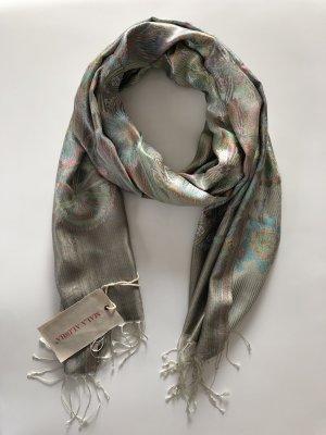 Mala Alisha Zijden sjaal veelkleurig